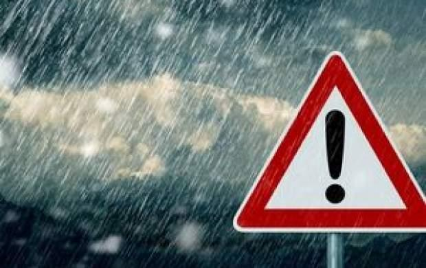 پیش بینی برف و باران 6 روزه در 31 استان