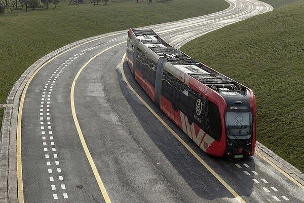 حرکت قطار خودران بر ریل های مجازی