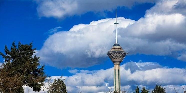 باد و باران آلودگی تهران را شست، هوای پایتخت سالم است