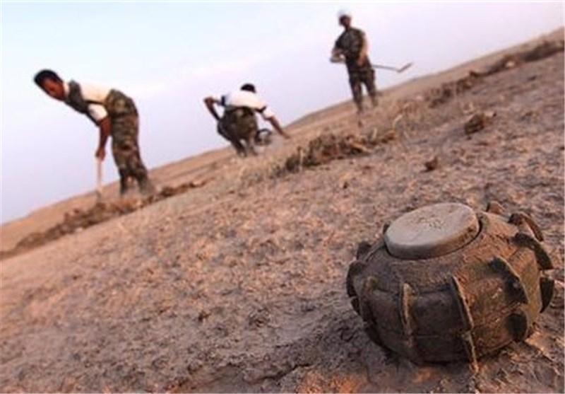 وجود 50 میلیون مین در خاک عراق