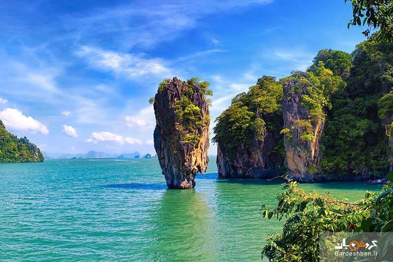 جزیره شگفت انگیز جیمز باند کجاست؟
