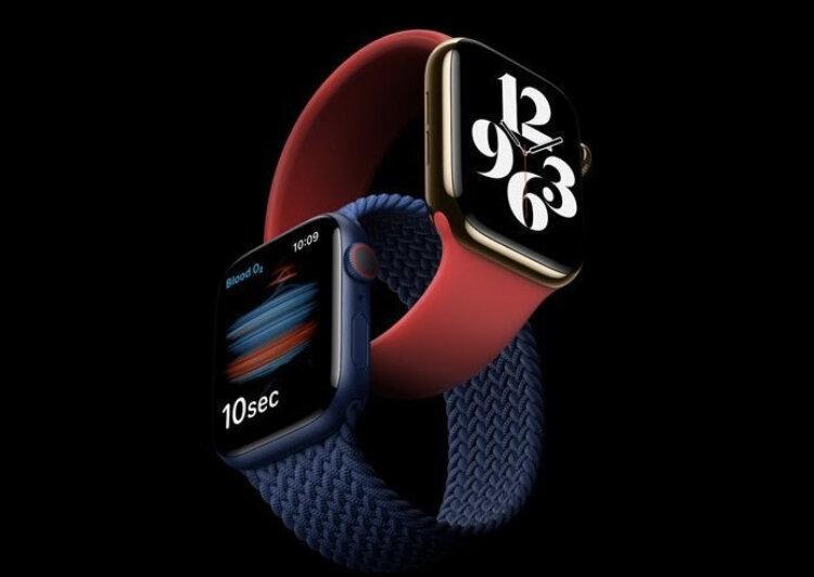 ساعت جدید اپل اکسیژن خون را اندازه می گیرد