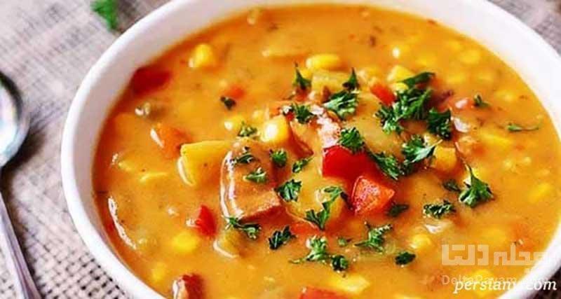 سوپ گندم؛ پیش غذای ساده و سریع